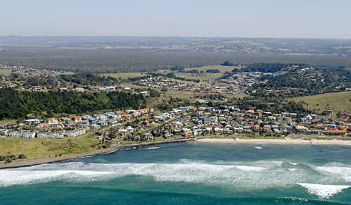 A drop in median house prices at places such as Lennox Head has lured investors back into the market.