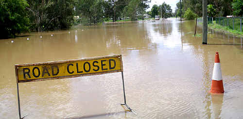 Parents are reminded to ensure children are not playing in flood prone waterways, watercourses and drains as water levels can rise quickly.