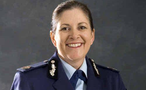 The northern region's new police commander, Carlene York.