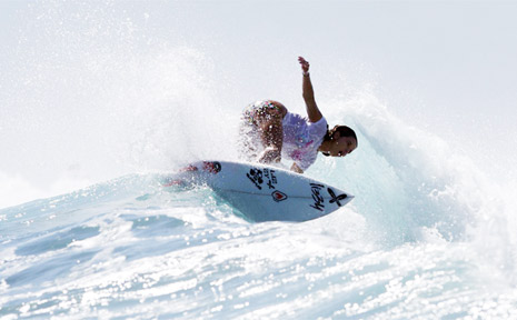 2009 All Girls club champion, Kingscliff's Codie Klein who also represented the FNC region and NSW at the Australian Titles last year. The All Girls Surfriders Club began in 1992 and has seen surfer girls develop into amateur worldjunior champions.
