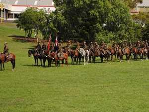 Light Horse Troop back riding