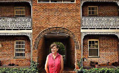 Kate Stead, who is selling the old Maclean Brewery on Stanley Street, Maclean.