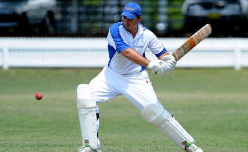 Tucabia Blue's Matt Kroehnert will test the Harwood bowlers at Yamba.