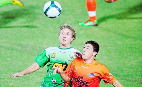 Jimmy Downey's career is on a new path with the North Queensland Fury. Downey joined the side following a swap deal.