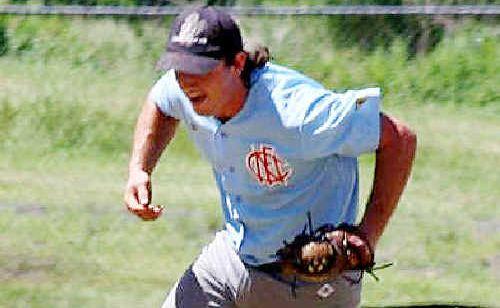 Matt Vidler in action for Far North Coast in the field.