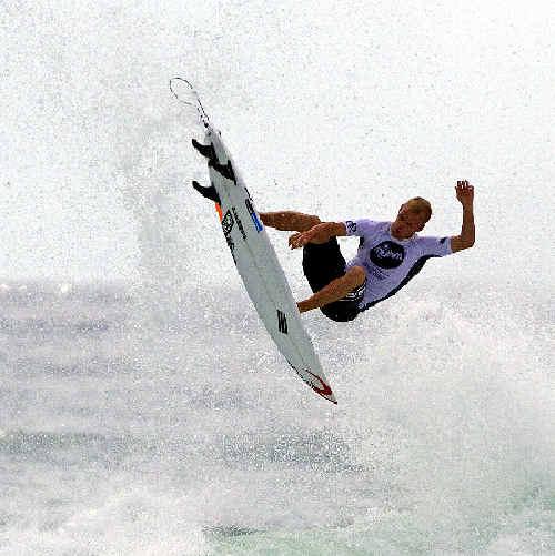 Le-Ba's Stuart Kennedy shows his skills.