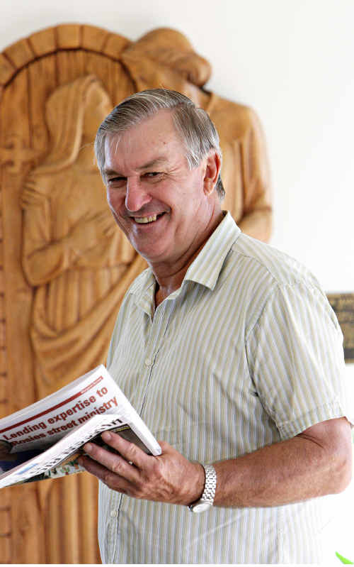 Father Stan Griffiths says Coast MPs' comments shocked him and he supports same-sex surrogacy.