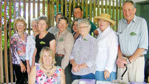 Members enjoyed the Diggers Garden Party.