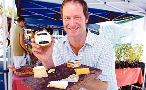 Justin Telfer of Bangalow Cheese Co.