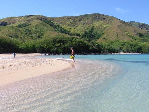 The Fijian Islands.