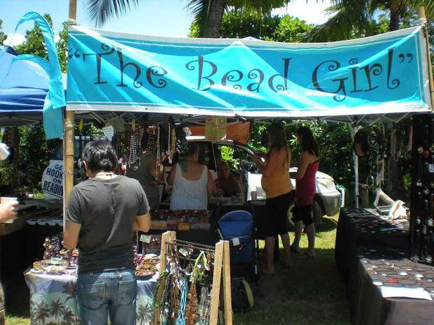 The Sunday Port Douglas markets.