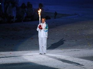Russia blasts Winter Olympic torch into orbit