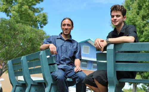SCU students Justin Gaetano and Alec Shaw were awarded scholarships.