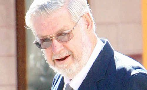 Murray Moffat pictured leaving court in Ipswich.