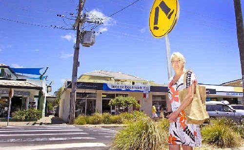 Chamberof Commerce president Louise Owen wants a second pedestrian crossing in Lennox.