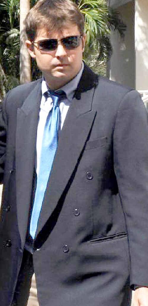 Toowoomba man Trent John Pobar leaves the Darwin Supreme Court.