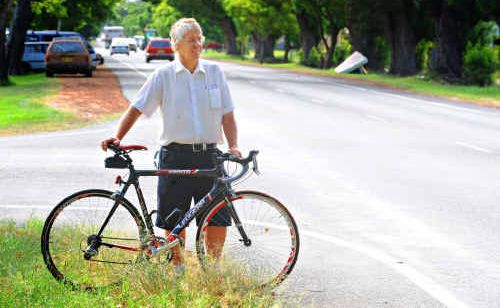 John Harrison will join more than 130 riders leaving Grafton for the 228km trek to Inverell tomorrow.