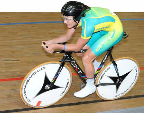 Australian track and road race cycling champion Jordan Kerby.