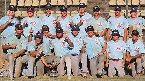 The victorious Far North Coast Timberjacks.