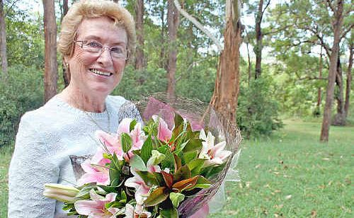 Lismore Electorate Woman of the Year, Betty Saunders of Goonellabah.