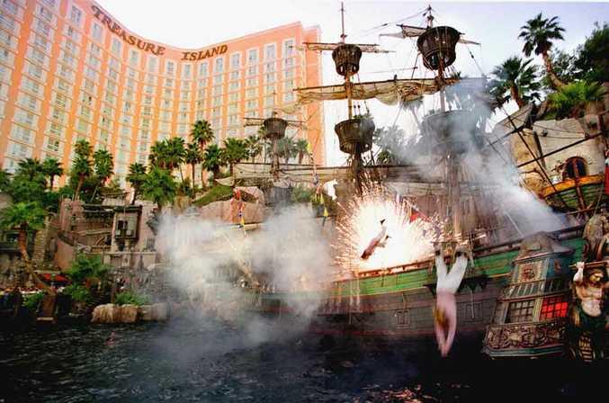 Treasure Island, Las Vegas.