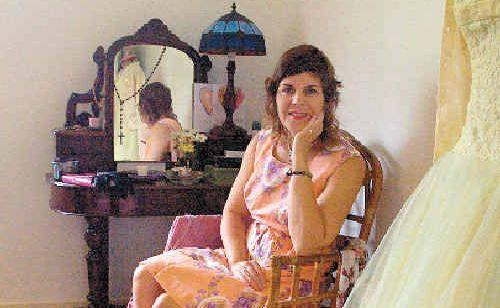 Love Vintage Fair co-ordinator Janel Morrissey says she loves vintage clothing because it has a 'sense of romance'.