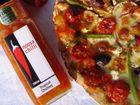 Sunshine Coast Food Show must do, a Noosa Chilli tropical chutney pizza.