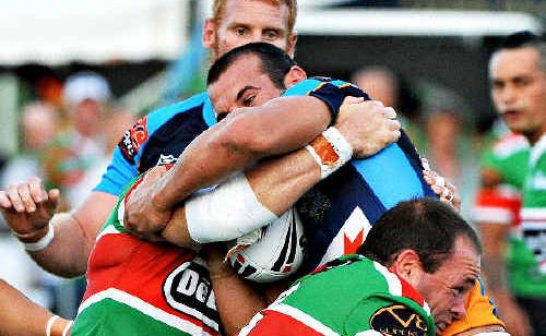 There was no way through for this Titan during their clash with Souths.