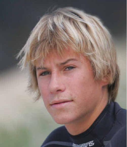 Rainbow Beach surfer Noah Lane.
