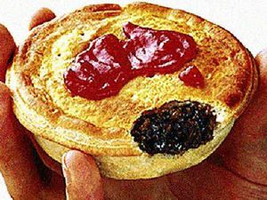 Meat pie was man's undoing after he lied about car crash