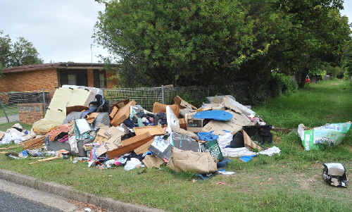 Illegal waste is on the Coffs Harbour City Council's radar