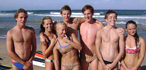 The talented youngsters hoping to score plenty of points for Coffs Harbour Surf Life Saving Club this weekend at the State Championships at Blacksmith's Beach.