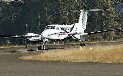Airborne: An airport estate at Kybong has taken another step forward.