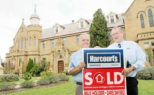 The Abbey of the Roses was sold for more than $1.5 million by Harcourts Rural's Max Holder and Richard Thew.