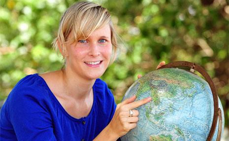 Skye Martin from Noosa plans to travel through Asia teaching English.