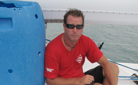Solo voyager Ian Thomson has been granted permission to use the Brisbane to Gladstone yacht race as a warm up event for his attempt to break a round Australia world record.