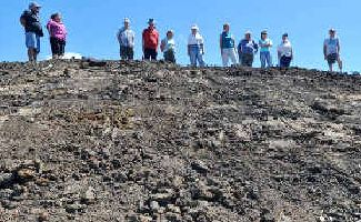 PILE: Corindi residents want this enormous dirt pile removed.