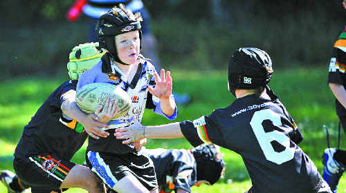 OFFERING SUPPORT: A new sponsorship agreement could assist junior rugby league clubs on the north coast. BRUCE THOMAS