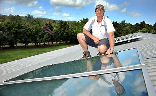 The state government's solar hot water program is the latest energy efficiency program to run into trouble.