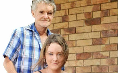 Terry Summersides and his daughter Fiona get on with life.