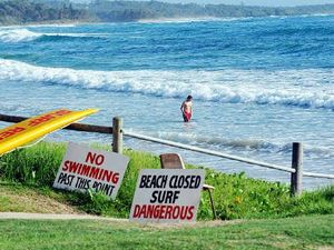 Beaches closed today due to rubbish after wild weather