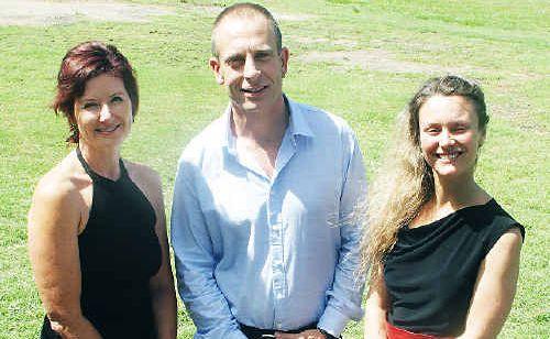 Educators Joanna Zielinska, Michael Shaw and Natalie Graham are set to launch an anti-bullying program at Tweed schools.