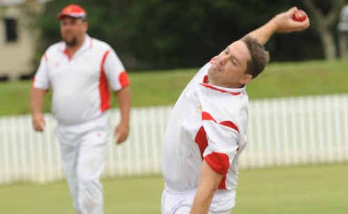South Services bowler Matt Peterson starred with 6-58.