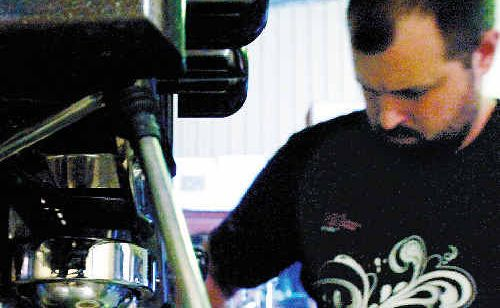 Matt Hellyer, of Evolution Cafe in Ballina, has won the areas inaugural Gun Barista competition. Matt has the right to challenge other gun baristas for a shot at the state titles.