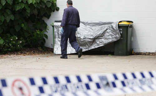 The scene of the alleged rape.