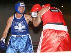 Fighters battle it out at last year's QPS vs. Firefighters Charity Boxing Tournament.