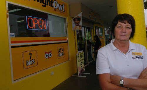 Kathy Dick thinks Bundaberg streets are too dark.