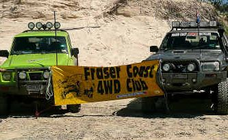 Thanks to the Fraser Coast 4WD Club, three ute loads of rubbish were cleared from beaches on the World Heritage-listed Fraser Island.