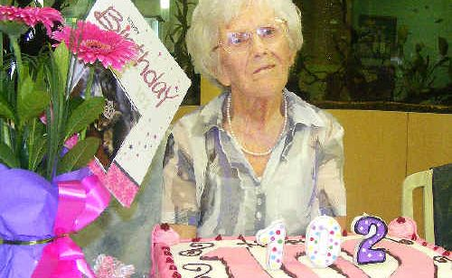Gladys McClymont, a resident of St Andrews in Ballina, turned 102 on February 24.