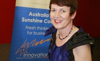 Australian trade commissioner in Japan, Wendy Holdenson, visited the Sunshine Coast University Innovation Centre.